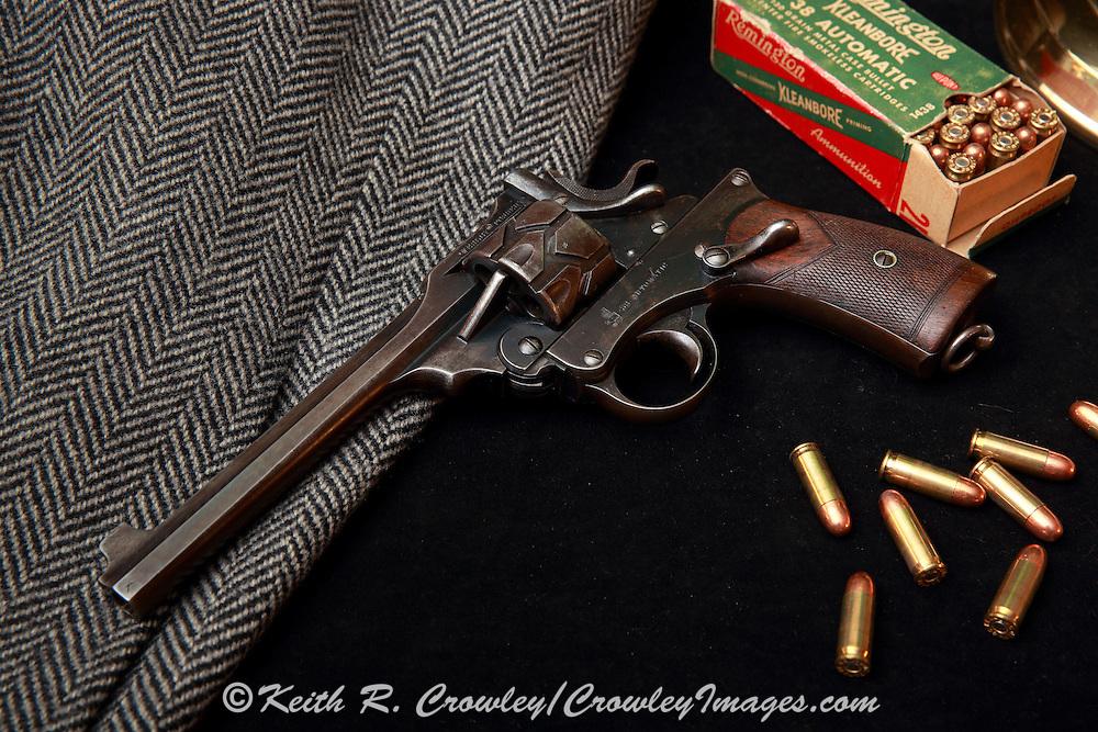 Webley Fosbery, .38 Automatic Revolver