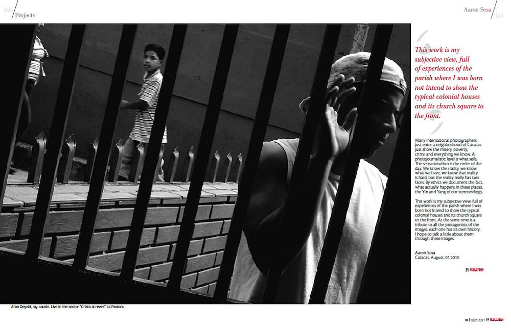 Revista f8 Magazine<br /> http://www.f8mag.com<br /> Art&iacute;culo: Apuntes sobre mi vida: La Pastora / Notes of my life: La Pastora<br /> 2011