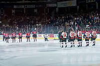 KELOWNA, CANADA - NOVEMBER 25: The Kelowna Rockets line up against the Medicine Hat Tigers on November 25, 2017 at Prospera Place in Kelowna, British Columbia, Canada.  (Photo by Marissa Baecker/Shoot the Breeze)  *** Local Caption ***