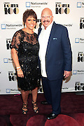 November 2, 2012- New York, NY: (L-R) Linda Johnson Rice, Chair, Johnson Publishing Company and Media Personality Tom Joyner at the Ebony Power 100 Gala Presented by Nationwide held at Jazz at Lincoln Center on November 2, 2012 in New York City. The EBONY Power 100 Gala Presented by Nationwide salutes the country's most influential African Americans. (Terrence Jennings)