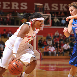 Jan 2, 2010; Piscataway, NJ, USA; first half NCAA women's basketball action between Rutgers and DePaul at the Rutgers Louis Brown Athletic Center.