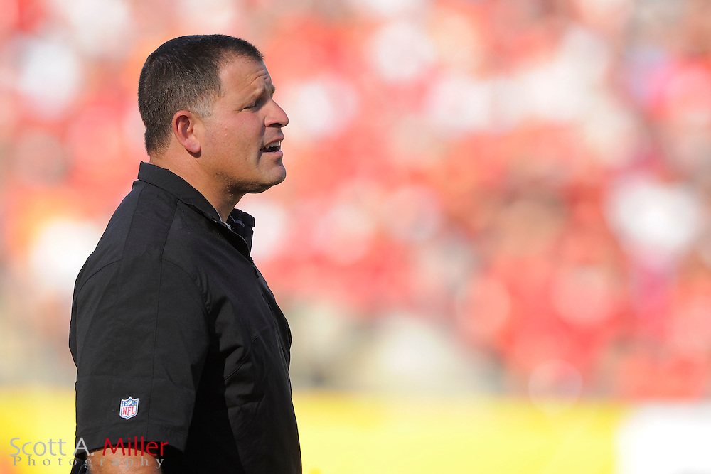 Tampa Bay Buccaneers head coach Greg Schiano during an NFL game against the Atlanta Falcons at Raymond James on November 25, 2012 in Tampa, Florida. ...©2012 Scott A. Miller..