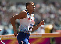 Athletics - 2017 IAAF London World Athletics Championships - Day Two (AM Session)<br /> <br /> Event: Mens 800m - Round 3<br /> <br /> Elliot Giles (GBR) <br /> <br /> <br /> COLORSPORT/DANIEL BEARHAM