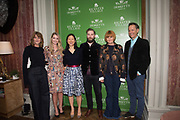 SOPHIE HEDLEY; LADY KITTY SPENCER;  RENEE KUO; TIM LORD;  MARY PORTAS; RICHARD E. GRANT,, Bicester Village and Debrett's host a breakfast panel discussion featuring: Mary portas, Richard E. Cooper, Kitty Spencer and Tim Lord on the Future of Fashion and Etiquette. Academicians Room, Royal Academy. London. 28 March 2017