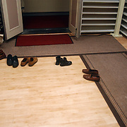 Huizerdag 2002, Open dag marokkaanse moskee, gebedsruimte, schoenen uit voor de deur