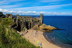 St Andrews Castle, St Andrews, Fife, Scotland<br /> <br /> (c) Andrew Wilson   Edinburgh Elite media