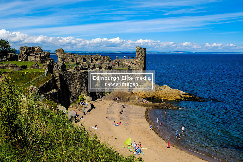 St Andrews Castle, St Andrews, Fife, Scotland<br /> <br /> (c) Andrew Wilson | Edinburgh Elite media