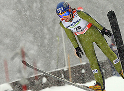 Sarah Hendrickson of USA at Ski Jumping ladies Normal Hill Individual of FIS Nordic World Ski Championships Liberec 2008, on February 20, 2009, in Jested, Liberec, Czech Republic. (Photo by Vid Ponikvar / Sportida)