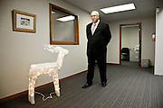 Nicholas Kaiser, Director and Chairman of Saturna Capital. Photographed in Saturna's offices in Bellingham, WA for Forbes Magazine.  2009-12
