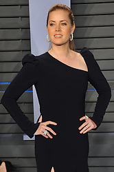 Arrivals at the 2018 Vanity Fair Oscar Party Hosted By Radhika Jones. 04 Mar 2018 Pictured: Amy Adams. Photo credit: Leon Brezer / MEGA TheMegaAgency.com +1 888 505 6342