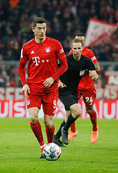 05.02.2020, Allianz Arena, Muenchen, GER, DFB Pokal, FC Bayern Muenchen vs TSG 1899 Hoffenheim, Achtelfinale, im Bild Robert Lewandowski // during the German Pokal the round of last sixteen match between FC Bayern Muenchen and TSG 1899 Hoffenheim at the Allianz Arena in Muenchen, Germany on 2020/02/05. EXPA Pictures © 2020, PhotoCredit: EXPA/ SM<br /> <br /> *****ATTENTION - OUT of GER*****
