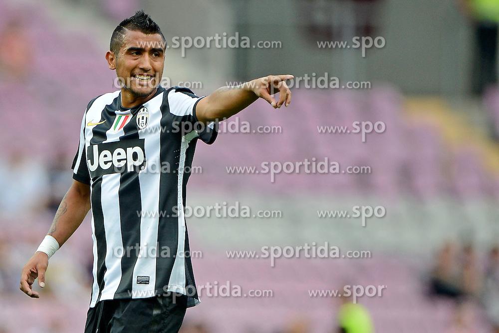 Football: Italy, Serie A, Juventus Turin.Arturo Vidal.© pixathlon..ITALY OUT !