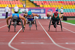 Patrick Monahan, IRE competing in the T53 800m at the Berlin 2018 World Para Athletics European Championships