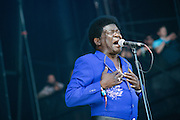 Charles Bradley performing during day 2 of Lollapalooza 2013 on August 3rd, 2013.