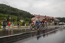 During Stage 4 of 23rd Tour of Slovenia 2016 / Tour de Slovenie from Rogaska Slatina to Novo mesto (165,5 km) cycling race on June 19, 2016 in Slovenia. Photo by Grega Valancic / Sportida