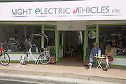 Shop selling Light Electric Vehicles, Leiston, Suffolk, England