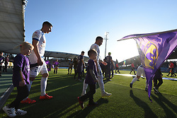Players of NK Maribor and NK Celje before during football match between NK Maribor and NK Celje in Round #24 of Prva liga Telekom Slovenije 2018/19, on March 30, 2019 in stadium Ljudski vrt, Maribor, Slovenia. Photo by Milos Vujinovic / Sportida