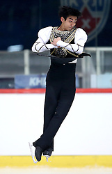 04.12.2015, Dom Sportova, Zagreb, CRO, ISU, Golden Spin of Zagreb, freies Programm, Herren, im Bild Michael Christian Martinez, Philippines. // during the 48th Golden Spin of Zagreb 2015 men Free Program of ISU at the Dom Sportova in Zagreb, Croatia on 2015/12/04. EXPA Pictures © 2015, PhotoCredit: EXPA/ Pixsell/ Igor Kralj<br /> <br /> *****ATTENTION - for AUT, SLO, SUI, SWE, ITA, FRA only*****