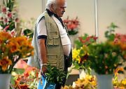 Lysa nad Labem/Tschechische Republik, CZE, 13.07.06: Besucher auf der größten Blumenausstellung KVETY 2006 in Lysa nad Labem.| Lysa nad Labem/Czech Republic, CZE, 13.07.2006: Czech biggest flower exhibition KVETY 2006 in Lysa nad Labem.