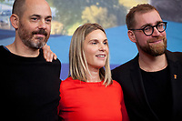 Director, Screenwriter, Edward Berger, Actress, Screenwriter, Nele Mueller-Stöfen and Producer Jan Krüger at the press conference for the film All My Loving at the 69th Berlinale International Film Festival, on Saturday 9th February 2019, Hotel Grand Hyatt, Berlin, Germany.