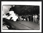 Burning Boat, Christchurch college, Oxford. 1985,