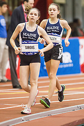 Millrose Games: womens Mile Walk, Sirois