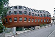 The Chesa Futura, or future house (Architect: Norman Foster), St. Moritz, Switzerland,