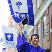 Jason Graduation - Washington Square, NY