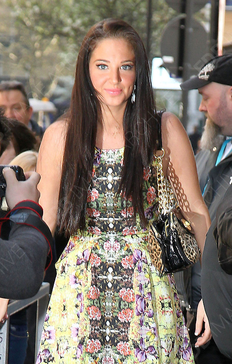 02.APRIL.2012. LONDON<br /> <br /> TULISA CONSTOSTAVLOS LEAVING THE BBC RADIO 1 STUDIOS IN CENTRAL LONDON<br /> <br /> BYLINE: EDBIMAGEARCHIVE.COM<br /> <br /> *THIS IMAGE IS STRICTLY FOR UK NEWSPAPERS AND MAGAZINES ONLY*<br /> *FOR WORLD WIDE SALES AND WEB USE PLEASE CONTACT EDBIMAGEARCHIVE - 0208 954 5968*