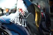 September 4-7, 2014 : Italian Formula One Grand Prix - Red Bull Renault engine cover.