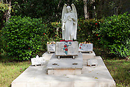 Family grave in Biran, Holguin, Cuba.