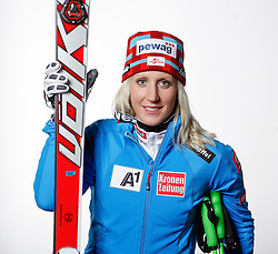 20.10.2012, Messehalle, Innsbruck, AUT, OeSV, Ski Alpin, Fototermin, im Bild Eva Maria Brem (OeSV, Skirennlaeuferin) // during the official Portrait and Teamshooting of the Austrian Ski Federation (OeSV) at the Messehalle, Innsbruck, Austria on 2012/10/20. EXPA Pictures © 2012, PhotoCredit: EXPA/ OeSV/ Erich Spiess