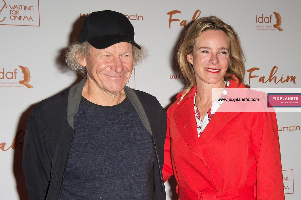 Philippe Poupon_Géraldine Danon Avant première du film Fahim dimanche 29 Septembre 2019  cinéma Le grand Rex Paris