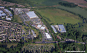 aerial photograph of Norwich showing the area around   Hall Rd Norwich, Norfolk NR4 6AJ   including Neatmarket Norwich, Norfolk NR4 6EG  and    Frenbury Business Park Hellesdon Park Rd Norwich, Norfolk NR6 5DP