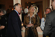 MICHAEL AND SANDRA HOWARD. Oldie magazine's Oldie of the Year Awards 2006. Simpson's. the Strand. London.21 March 2006.  ONE TIME USE ONLY - DO NOT ARCHIVE  © Copyright Photograph by Dafydd Jones 66 Stockwell Park Rd. London SW9 0DA Tel 020 7733 0108 www.dafjones.com
