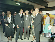 24/08/1984<br /> 08/24/1984<br /> 24 August 1984<br /> Opening of ROSC '84 at the Guinness Store House, Dublin.  At the exhibition were: Lord Iveagh; Mr Pat Murphy ROSC Chairman; Mrs Maeve Hillery and President Patrick Hillery.