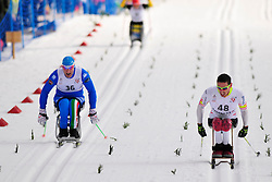 TOMASONI Giordano, ITA, KLEBL Chris, CAN at the 2014 IPC Nordic Skiing World Cup Finals - Middle Distance