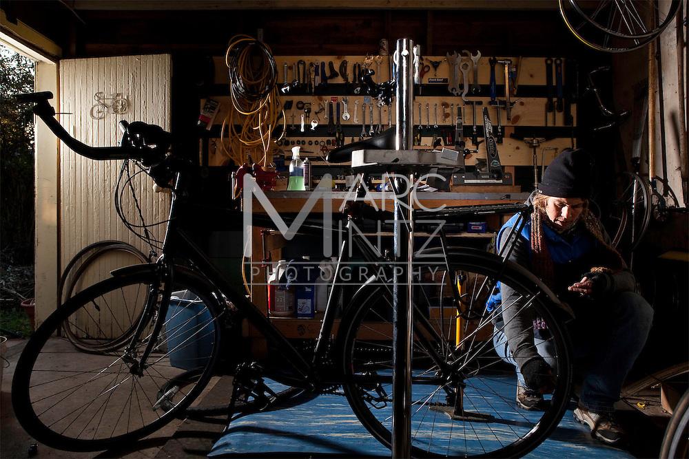 Kerri's Neighborhood Bike Shop. Eugene, Oregon.