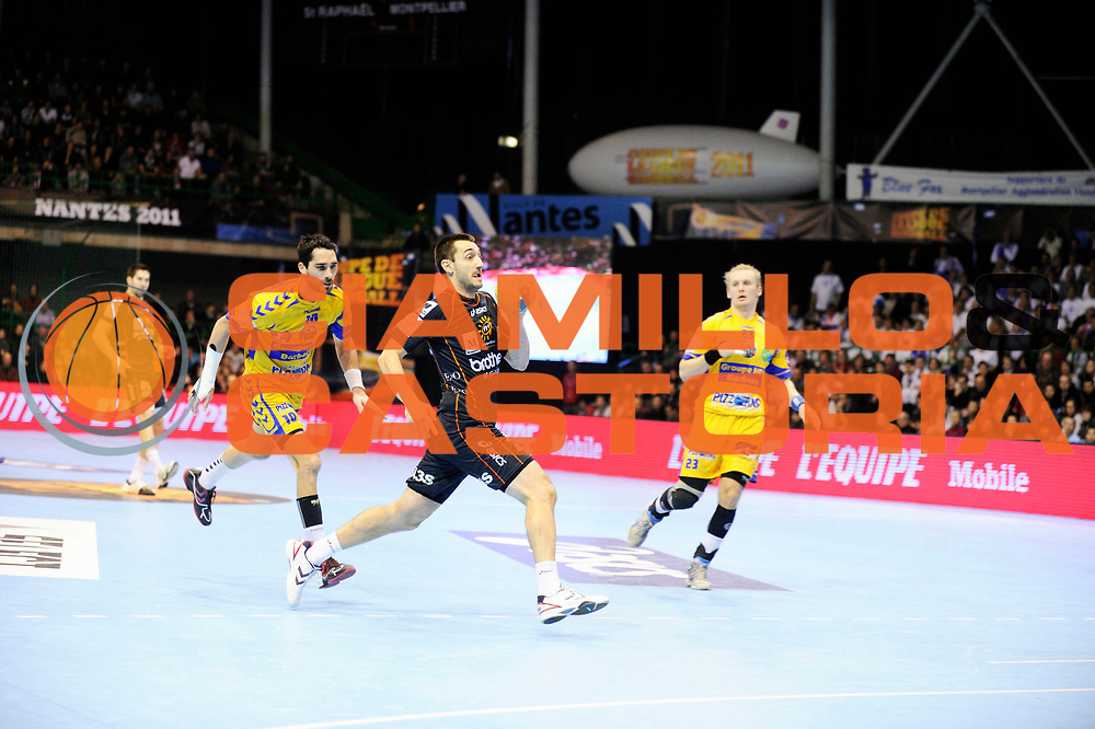 DESCRIZIONE : France Hand D1 Coupe de la Ligue  Finale a Nantes<br /> GIOCATORE : Gagic Dragan<br /> SQUADRA : Montpellier<br /> EVENTO : FRANCE Hand D1 Coupe de la Ligue <br /> GARA : Montpellier St Raphael<br /> DATA : 11/12/2011<br /> CATEGORIA : Hand D1 <br /> SPORT : Handball<br /> AUTORE : JF Molliere <br /> Galleria : France Hand 2011-2012 Action<br /> Fotonotizia : France Hand D1 Coupe de la Ligue Finale a Nantes<br /> Predefinita :