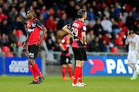 Deception Christophe KERBRAT - 08.03.2015 - Guingamp / Lille - 28eme journee de Ligue 1 <br /> Photo : Vincent Michel / Icon Sport