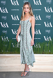 Lady Amelia Windsor attending the VIP preview for the V&A Museum's Fashioned From Nature exhibition, in London. Photo credit should read: Doug Peters/EMPICS Entertainment