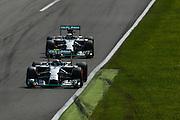 September 4-7, 2014 : Italian Formula One Grand Prix - Nico Rosberg  (GER), Mercedes Petronas, Lewis Hamilton (GBR), Mercedes Petronas