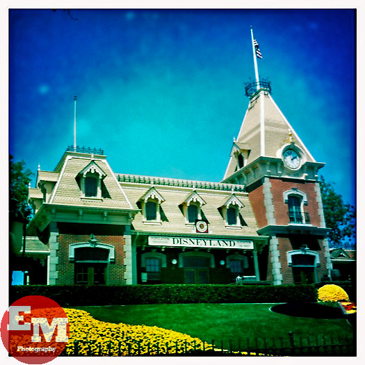 April 23, 2010; Anaheim, CA; USA; Welcome to Disneyland.