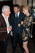 NICKY HASLAM;  Prince Emanuele Filiberto of Savoia; Clotilde, Princess of Venice and Piedmont;, Graydon Carter hosts a dinner to celebrate the reopening og the American Bar at the Savoy.  Savoy Hotel, Strand. London. 28 October 2010. -DO NOT ARCHIVE-© Copyright Photograph by Dafydd Jones. 248 Clapham Rd. London SW9 0PZ. Tel 0207 820 0771. www.dafjones.com.
