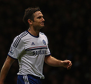 Picture by David Horn/Focus Images Ltd +44 7545 970036<br /> 23/11/2013<br /> Frank Lampard of Chelsea during the Barclays Premier League match at the Boleyn Ground, London.