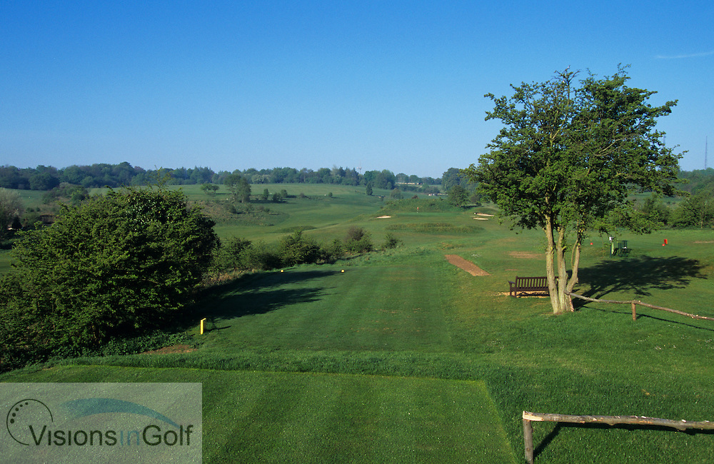 Royal Winchester GC, England, Uk, Photo Mark Newcombe<br /> <br /> Royal Winchester GC, 7th hole from the tee