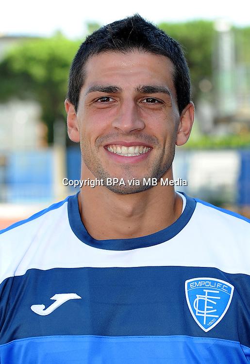 Italian League Serie A -2015-2016 / <br /> ( Empoli Fc  ) - <br /> Manuel Pucciarelli