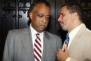 l to r: Rev. Al Sharpton and Governor David Patterson at The Pre-Reception for The 100th NAACP Annual Conference hosted by Governor David Patterson w/special performance by Ryan Leslie held at the Great Hall at City College of New York in New York City on July 12, 2009