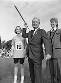 1989 - Charles Haughey TD At The Community Games. (5).