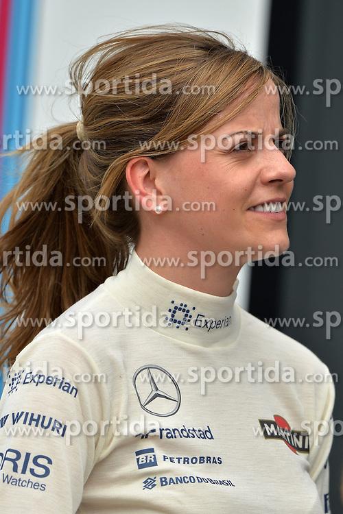 03.07.2014, Silverstone Circuit, Silverstone, ENG, FIA, Formel 1, Grand Prix von Grossbritannien, Vorberichte, im Bild Susie Wolff (GBR) Williams Development Driver // during the preperation of British Formula One Grand Prix at the Silverstone Circuit in Silverstone, Great Britain on 2014/07/03. EXPA Pictures &copy; 2014, PhotoCredit: EXPA/ Sutton Images<br /> <br /> *****ATTENTION - for AUT, SLO, CRO, SRB, BIH, MAZ only*****